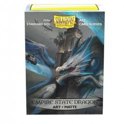 Dragon Shield Matte 'Empire State Dragon' Art Sleeves (100) [STANDARD]