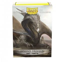 Dragon Shield Matte 'Sphinx Dragon' Art Sleeves (100) [STANDARD]