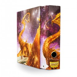 Dragon Shield Slipcase Binder - Glist (Gold)