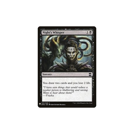 Night's Whisper [Mystery Booster]