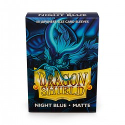 Dragon Shield Matte Night Blue Deck Protector Sleeves (60) [SMALL]