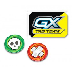 GX, Burn and Poisen Counter Set (Tag Team)