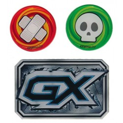 GX, Burn and Poisen Counter Set (Blue)