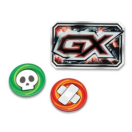 GX, Burn and Poisen Counter Set (Red)