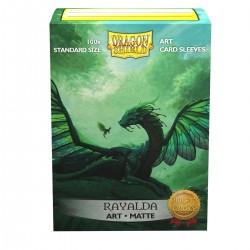 Dragon Shield Matte 'Rayalda' Art Sleeves (100) [STANDARD]