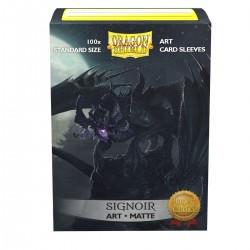 Dragon Shield Matte 'Signoir' Art Sleeves (100) [STANDARD]
