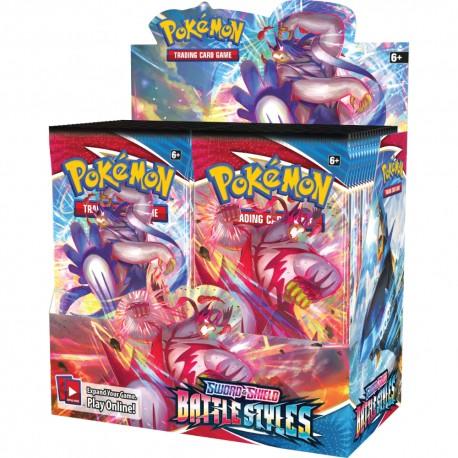 Sword & Shield: Battle Styles Booster Box