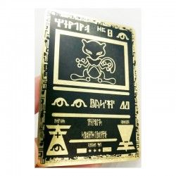 Ancient Mewtwo Metal Card
