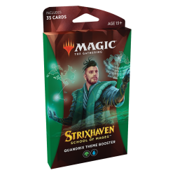 Strixhaven: School of Mages Quandrix Theme Booster