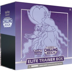 S&S: Chilling Reign Elite Trainer Box - Shadow Rider Calyrex