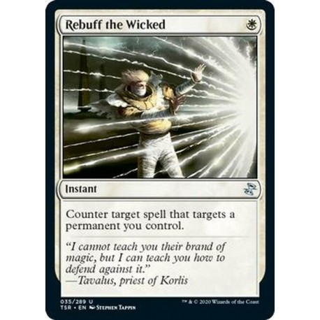 Rebuff the Wicked