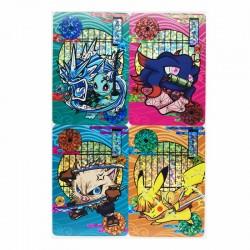 Pokemon Demon Slayer Kimetsu - Gauze Flash Cards