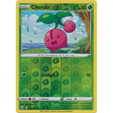 Cherubi [007/163 Common Reverse Holofoil]