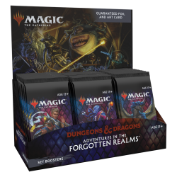 Adventures in the Forgotten Realms Set Booster Box [ON REQUEST]