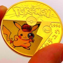 Pokemon Pikachu Coin - 2