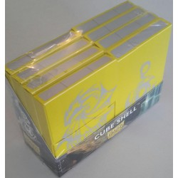 Dragon Shield Cube Shell - Yellow (8 pieces)
