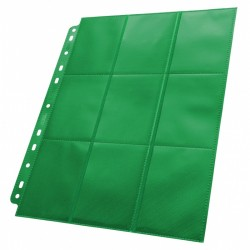 Ultimate Guard 18 Pocket Page - Side-Loading (Green)