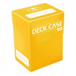 Ultimate Guard Yellow Deck Case (80+)