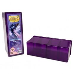 Dragon Shield Four Compartment Box - Purple
