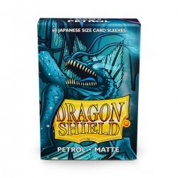 Dragon Shield Matte Petrol Deck Protector Sleeves (60) [SMALL]
