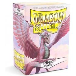 Dragon Shield Matte Pink Deck Protector Sleeves (100) [STANDARD]