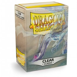 Dragon Shield Classic Clear Deck Protector Sleeves (100) [STANDARD]